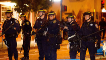 San Fran Police -- 40 TOTAL ARRESTS ... 2 People Shot In World Series Madness