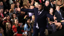 Redskins Star Chris Baker -- Big Man Busts Smooth Moves On Fashion Catwalk