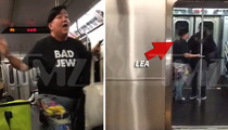 'Orange Is the New Black' Star Lea DeLaria -- Shouts Down Subway Preacher ... You Don't Own the Bible (VIDEO)