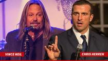 Vince Neil & Ex-NBA Star Chris Herren -- Go To Rehab ... And Raise $100K!!