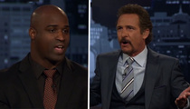 Ricky Williams -- Black People Don't Have a Problem with Adrian Peterson