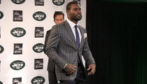 Michael Vick -- DROPS BLUE STEEL ... After Dropping Steelers