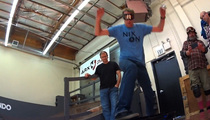 Tony Hawk Rides a Hoverboard ... FOR REAL THIS TIME!
