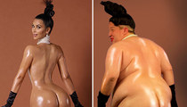 Kim K's Big Ass vs. Jeff Beacher Big Ol' Ass ... Who Would you Rather?