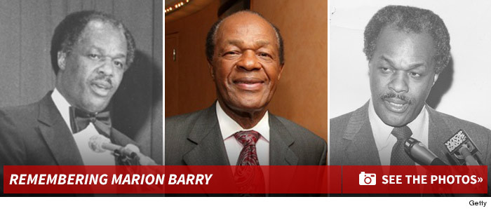 Marion Barry Fans Petition TMZ to Remove Its