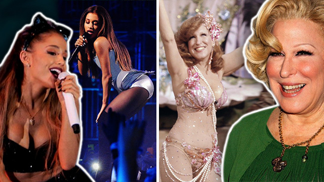 Ariana Grande Whore Warning Issued By ... Bette Freakin' Midler??