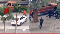 Famous TV 'Repo' Man -- Nabs Car Chase Suspect ... You're Welcome Cops!