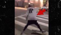 Justin Bieber -- Cops Called Over Skateboarding Ruckus