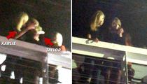 Taylor Swift -- Totally Kissing Karlie Kloss ... Maybe (PHOTOS)