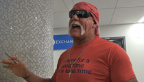 Hulk Hogan -- Neutral in Mike Brown Case ... Despite the Hulk Name Drop