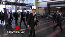 Prince William -- The British Are Coming! A Lot of Them ... (VIDEO)
