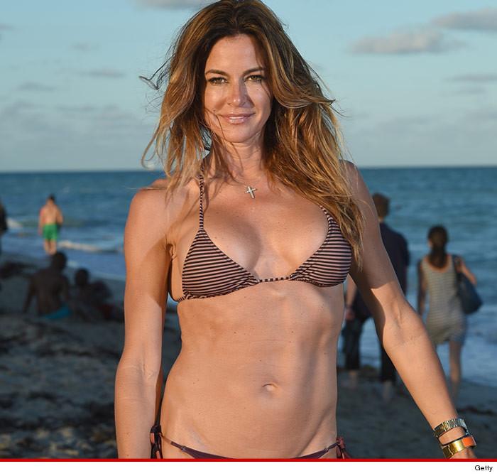 Kelly Bensimon bikini photos in Miami