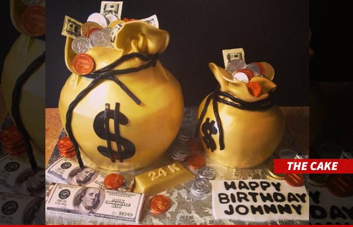 johnny manziel my bday cake is money tmzcom