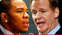 Roger Goodell -- I Half-Assed My Job ... When It Came to Ray Rice