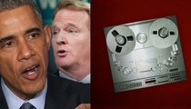 President Obama -- RIPS ROGER GOODELL ... NFL 'Behind the Curve' On Dom. Violence