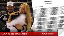 L.A. Kings Slava Voynov's Wife -- Blames Herself & Begs D.A. ... My Husband Is No Ray Rice