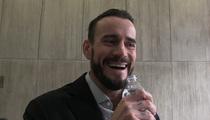 CM Punk -- Laughs Off Green Ranger Challenge ... For UFC Debut