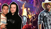 Justin Timberlake -- Hangs with Friends in Low Places ... But Not at Lance Bass' Wedding
