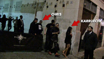 Chris Brown & Karrueche Tran -- They Just Can't Quit Each Other