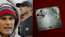 Tom Brady -- Jim Harbaugh to Michigan ... 'Would Be Awesome'