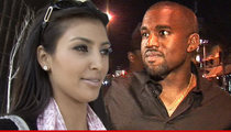 Kim Kardashian & Kanye West -- New House Purchase Is Master Plan to Keep Kanye at Home
