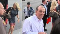 Jimbo Fisher -- Wife Rocks $2,000 Purse ... To FSU Beef Bowl