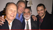 'The Godfather' -- Cool NYE Reunion ... Plus James Franco? (PHOTO)