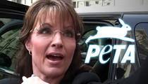 Sarah Palin -- Trig Stood on Our Dog ... But At Least He Didn't Eat It