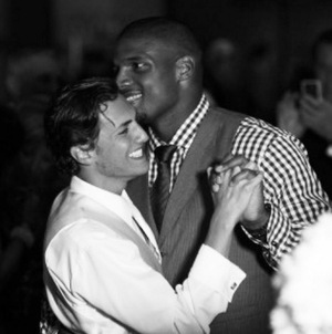 Michael Sam & Vito Cammisano -- Together Photos