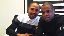 Jay Z -- I'm In the Fightin' Business ... Signs Top Boxer to Roc Nation