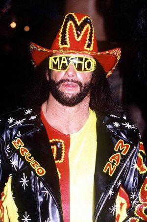 Macho Man's WWE Photos