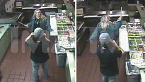 Jamie Lynn Spears -- Knife Wielding Badass ... Caught on Security Camera (VIDEO)