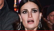 Idina Menzel -- I'm Singin' the National Anthem ... At the Super Bowl!