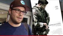 Seth Rogen -- Compares 'American Sniper' to Fake Nazi Propaganda Movie