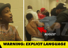 August Alsina -- Backstage Brawl at Non-Violence Concert (VIDEO)