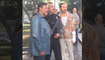 Russell Crowe & Ryan Gosling -- Hail To The Chief ... Of LAPD