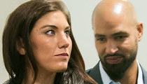 Hope Solo -- Husband Driving U.S. Soccer Team Van ... During DUI Arrest (UPDATE)