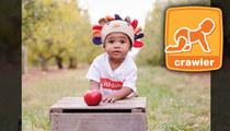 Torrey Smith's Baby -- $5,000 Winner ... In Gerber Baby Contest