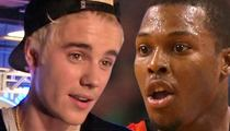Justin Bieber -- NBA PAL MAKES ALL-STAR TEAM ... Thanks to Pop Star's Support