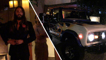Jared Leto -- My Ride Is Covered in Flames ... And I Love It (TMZ TV)