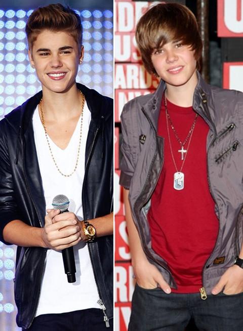 Justin Bieber -- Through the years