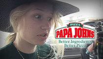 Iggy Azalea -- Puts Papa John's Drivers ON BLAST ... They're Pizzas of Crap!!