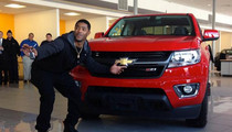 Malcolm Butler -- I GOT MY FREE TRUCK ... Thanks Chevy!