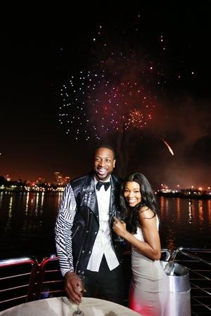 Dwyane Wade & Gabrielle Union -- The Happy Couple