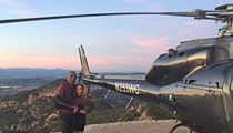 Kobe Bryant -- Breaks Out the Chopper ... For Valentine's Day