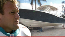 Ex-Dolphins Player -- Boat Suffered $70k In Damages ... After NFL Player Fell Overboard
