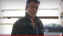 Pierce Brosnan 911 Call -- Shouts Frantic Warning During House Fire