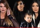 Kim Kardashian, North West, Kylie and Khloe in Car Accident