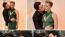 Scarlett Johansson -- Idina Expect John Travolta ... To Get So Touchy