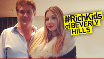 David Hasselhoff's Daughter -- I'm a Rich Kid Now ... Just Check My Resume